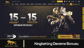 Kingbetting Deneme Bonusu